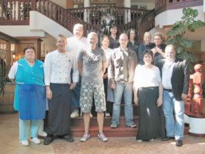 Team vom Restaurant der Störtebeker Festspiele in Ralswiek auf Rügen