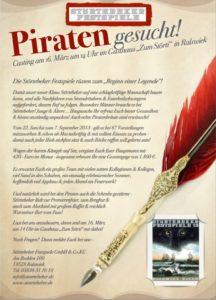 Stellenausschreibung der Störtebeker Festspiele in Ralswiek auf Rügen – Darsteller gesucht