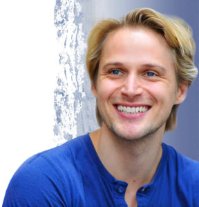 Schauspieler Bastian Semm von den Störtebeker Festspielen in Ralswiek auf Rügen