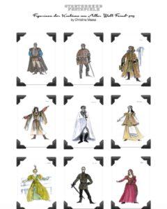 Figuren der Störtebeker Festspiele in Ralswiek auf Rügen von Christina Maass