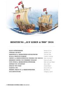 """Besetzung der Störtebeker Festspiele 2016 """"Auf Leben & Tod"""" in Ralswiek auf Rügen"""