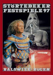 Plakat der Störtebeker Festspiele 1997 in Ralswiek auf Rügen