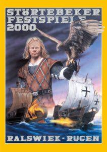 Plakat der Störtebeker Festspiele 2000 in Ralswiek auf Rügen
